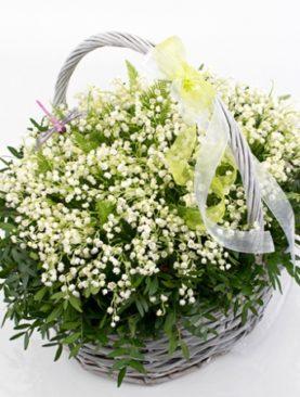 Цветы в корзине Лесная мавка